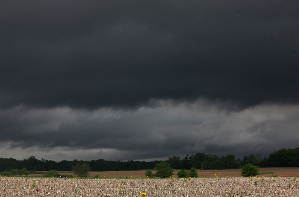 Storms in southern Indiana Wednesday May 25, 2011.