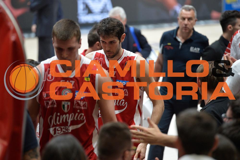 Davide Pascolo<br /> Olimpia EA7 Emporio Armani Milano vs Dolomiti Energia Trentino<br /> Lega A  2016/2017  Semifinale Gara 1<br /> Milano 25/05/2017<br /> Foto Ciamillo-Castoria/I.Mancini<br /> Provvisorio