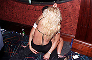 A couple kissing on the floor of a club, Club Class, Ikon, Maidstone, Kent, 2002