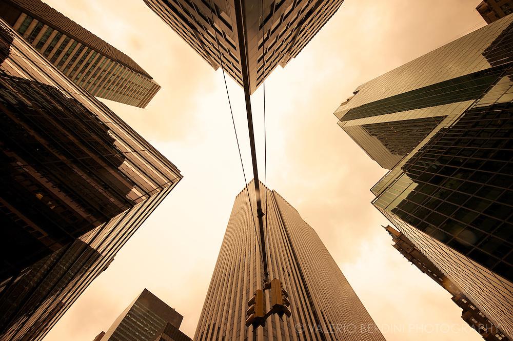 Skyscrapers. Manhattan. New York City. USA