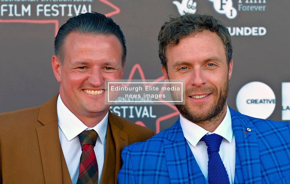Edinburgh International Film Festival, Saturday, 24 June 2018<br /> <br /> STEEL COUNTRY (WORLD PREMIERE)<br /> <br /> Pictured:  Scott Kyle and David Elliot<br /> <br /> (c) Alex Todd | Edinburgh Elite media