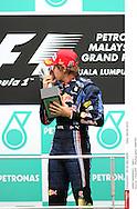 Grand prix de Malaisie 2010..Circuit de SEPANG. 4 Avril 2010...Photo Stéphane Mantey/L'Equipe. *** Local Caption *** vettel (sebastian) - (ger) -..