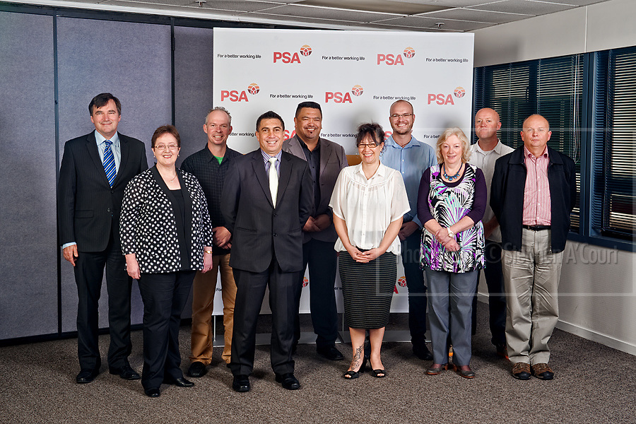 The NZ Public Service Association Executive Board.