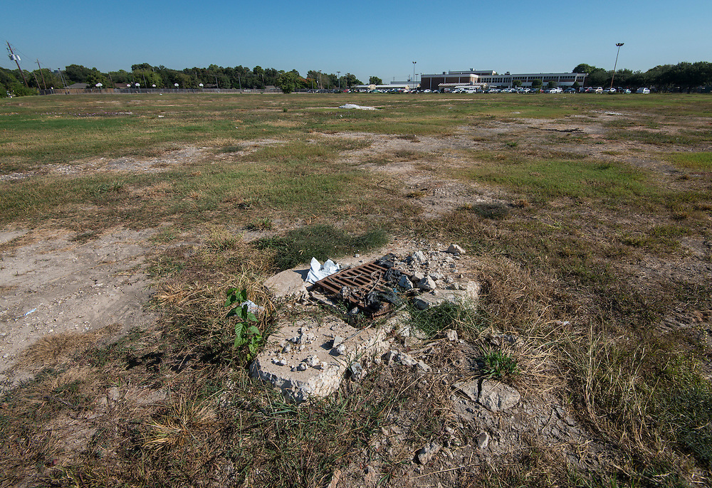 Site of the new Sharpstown High School, October 19, 2015.