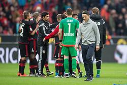 16.04.2016, BayArena, Leverkusen, GER, 1. FBL, Bayer 04 Leverkusen vs Eintracht Frankfurt, 30. Runde, im Bild Trainer Niko Kovac (Eintracht Frankfurt) // during the German Bundesliga 30th round match between Bayer 04 Leverkusen and Eintracht Frankfurt at the BayArena in Leverkusen, Germany on 2016/04/16. EXPA Pictures © 2016, PhotoCredit: EXPA/ Eibner-Pressefoto/ Schüler<br /> <br /> *****ATTENTION - OUT of GER*****