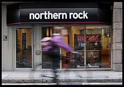 Northern Rock sold to Virgin Money. A Northern Rock branch in The City of London, Thursday, 17th November 2011.Photo by: Stephen Lock / i-Images