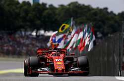 November 17, 2019, Sao Paulo, Brazil: Motorsports: FIA Formula One World Championship 2019, Grand Prix of Brazil, . #16 Charles Leclerc (MCO, Scuderia Ferrari Mission Winnow) (Credit Image: © Hoch Zwei via ZUMA Wire)
