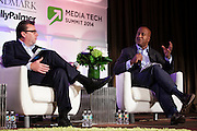 Alton Adams, National Lead, Customer Strategy And Growth Group, KPMG at Media Technolgy Summit 2014 on October 23, 2014. The 7th Annual Media Technology Summit meticulously curates a gathering of global trailblazers, innovators and investors. Landmark Ventures and Shelly Palmer bring together their exclusive global networks of Fortune 500 executives, venture capitalists, entrepreneurs and luminaries; to do business at the nexus of content, hardware, software and brands. The Media Tech Summit 2014 offered a place for the brightest minds to challenge paradigms, forecast trends and innovations, and share their rebellious perspectives in order to establish individual strategies to move forward in this connected world. (Photo: Jeffrey Holmes)