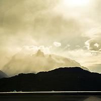 Tempanos en Playa Grey