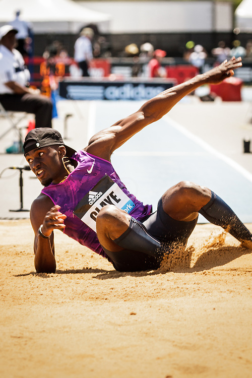 adidas Grand Prix Diamond League Track & Field: Mens' Triple Jump, Will Claye, USA