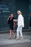 Caroline Gruosi-Scheufele; Eva Herzigova , Ark fundraising dinner and auction. ( Absolute Return for Kids ) Old Eurostar Terminal. Waterloo Station. London. 4 June 2009