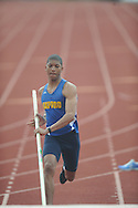 Oxford High's Kendall Jenkins pole vaults at The Oxford Eagle Invitational track meet at Oxford High School in Oxford, Miss. on Saturday, March 9, 2013.