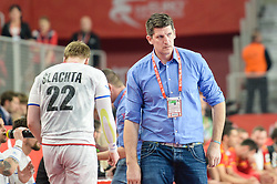 Daniel Kubes, head coach of Czech Republic during handball match between National teams of Macedonia and Czech Republic on Day 6 in Main Round of Men's EHF EURO 2018, on January 23, 2018 in Arena Varazdin, Varazdin, Croatia. Photo by Mario Horvat / Sportida