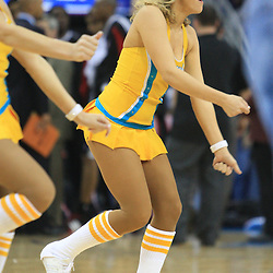 02 February 2009:  during a 97-89 loss by the New Orleans Hornets to the Portland Trail Blazers at the New Orleans Arena in New Orleans, LA.