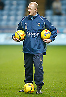 Photo: Steve Bond.<br /> Coventry City v Southampton. Coca Cola Championship. 20/02/2007.<br /> New Coventry City Manager Iain Dowie during the pre match warm up