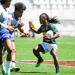 Branco du Preez of South Africa during the match between South Africa and Samoa at the HSBC Paris Sevens, stage of the Rugby Sevens World Series on June 2, 2019 in Paris, France. (Photo by Sandra Ruhaut/Icon Sport)