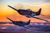 P-51 Mustang Flight - Hollister, CA