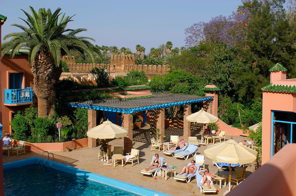 Pool, Palais Salam Hotel, Taroudant, Morocco