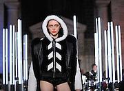 The Philipp Plein fashion collection is modeled during Fashion Week in New York, Monday, Feb. 13, 2017.  (AP Photo/Diane Bondareff)