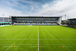 Six ways Stadium prepares for todays BAFA Britbowl finals - Mandatory by-line: Jason Brown/JMP - 27/08/2016 - AMERICAN FOOTBALL - Sixways Stadium - Worcester, England - London Warriors v London Blitz - BAFA Britbowl Finals Day