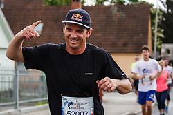 Marko Grilc during Wings for Life marathon in Ljubljana, Slovenia on 8th of May, 2016 . Photo by Grega Valancic / Sportida