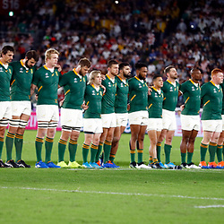 General views during the Rugby World Cup Final match between South Africa Springboks and England Rugby World Cup Final at the International Stadium Yokohama  Japan.Saturday 02 November 2019. (Mandatory Byline -Steve Haag Sports Hollywoodbets)