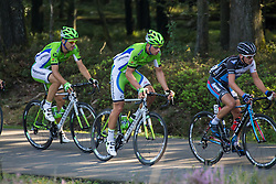 Rheden, The Netherlands - Dutch Food Valley Classic (UCI 1.1) - 23th August 2013 - Cannondale riding in the front of the peloton