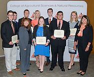 Freshmen and Transfer Student scholarship reception.<br />  Martha Burger Endowed FFA Leadership Scholars presented to