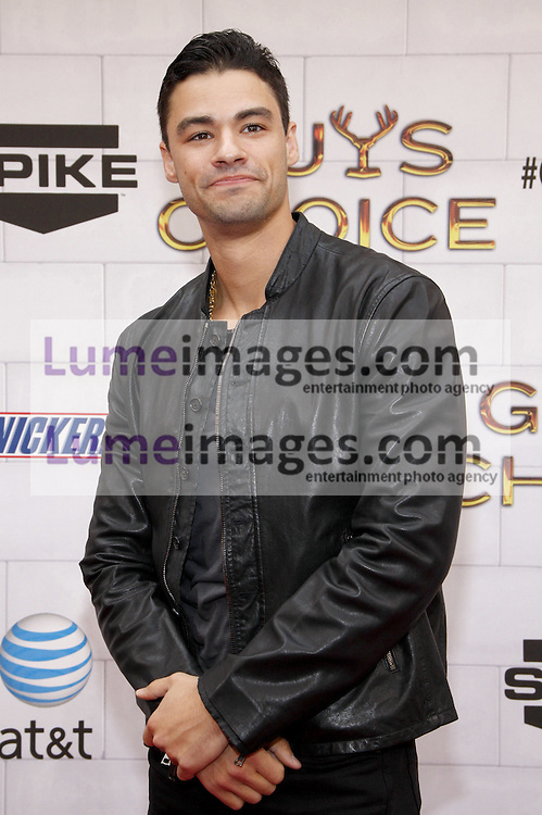 Kristopher Van Varenberg at the 2012 Spike TV's Guys Choice Awards held at the Sony Studios in Culver City on June 2, 2012. Credit: Lumeimages.com