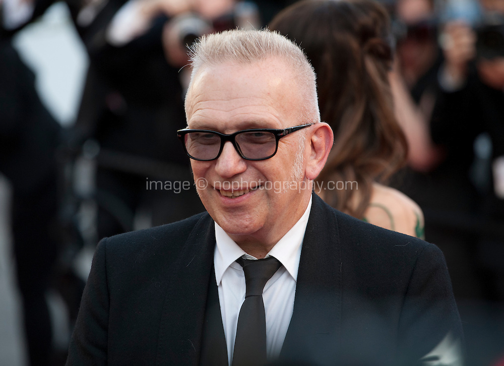 Jean-Paul Gaultier at the gala screening for the film Julieta at the 69th Cannes Film Festival, Tuesday 17th May 2016, Cannes, France. Photography: Doreen Kennedy