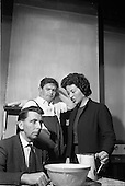 "1963 - Dublin Drama Festival production of ""Roots"" at Damer Theatre for Gael Linn"