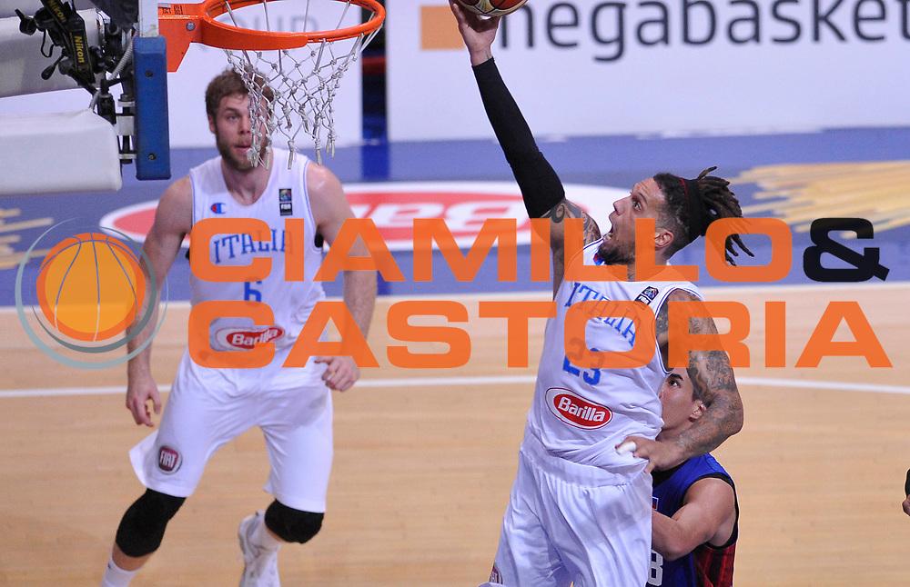DESCRIZIONE: Bologna Basketball City Tournament - Italia Filippine<br /> GIOCATORE: Daniel Lorenzo Hackett<br /> CATEGORIA: Nazionale Maschile Senior<br /> GARA: Bologna Basketball City Tournament - Italia Filippine<br /> DATA: 25/06/2016<br /> AUTORE: Agenzia Ciamillo-Castoria