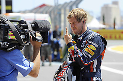 25.06.2011, Valencia-Street-Circuit, Silverstone, ESP, Großer Preis von Europa, Valencia, RACE 08, im Bild  Sebastian Vettel (GER), Red Bull Racing    EXPA Pictures © 2011, PhotoCredit: EXPA/ nph/  Dieter Mathis   EXPA Pictures © 2011, PhotoCredit: EXPA/ nph/  Dieter Mathis        ****** only for AUT, POL & SLO ******