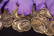 Scenes from Scholar Banquet at the Westin Oaks, May 23, 2013, in Houston. Salutatorian medals.