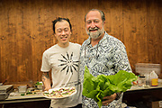 HIRAYAMA KAI CHOI<br /> Curator: Glenn Teves, University of Hawai'i Chef: David Gunawan, Farmer's Apprentice, Vancouver, BC<br /> Farmer: Christy Tao, Tiny ʻĀina Farm