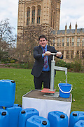 Rob Flello MP. Marking World Water Day, over 40 MP's walked for water at Westminster, London at an event organised by WaterAid and Tearfund. Globally hundreds of thousands of people took part in the campaign to raise awareness of the world water crisis.