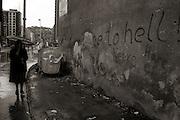Street life in Sarajevo.Photo:Thomas Sjørup © 2006