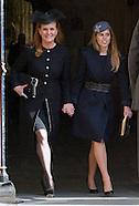 Royals Attend Sir David Frost Memorial, London 2