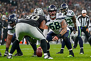 Seattle Seahawks Offensive Linesman Justin Britt (68) during the International Series match between Oakland Raiders and Seattle Seahawks at Wembley Stadium, London, England on 14 October 2018.