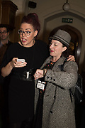 NATASHA DEVON; CAROLINE HOUNSELL, Ann Coffey MP hosts a reception and panel debate  on behalf of Harry's Grooming to launch the Masculinity Report. Houses of Parliament. 16 November 2017.