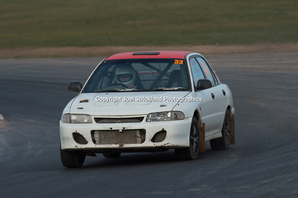 Richard North - Mitsubishi Evo 1 - Rallycross Australia - Winton Raceway - 16th July 2017