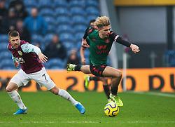 Jack Grealish of Aston Villa (R) in action - Mandatory by-line: Jack Phillips/JMP - 01/01/2020 - FOOTBALL - Turf Moor - Burnley, England - Burnley v Aston Villa - English Premier League