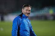 Forest Green Rovers assistant manager, Scott Lindsey during the Vanarama National League match between Eastleigh and Forest Green Rovers at Arena Stadium, Eastleigh, United Kingdom on 10 January 2017. Photo by Shane Healey.
