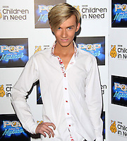 Harry Derbidge arrives at the Piccadilly Theatre to see a performance of West End Musical GHOST in aid of 'BBC Children in Need POP Goes the Musical', London, UK. 14 September 2011 Contact: Rich@Piqtured.com +44(0)7941 079620 (Picture by Richard Goldschmidt)