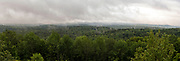 Panoramic view from Hogback Mountain, near WIlmington, Vermont, USA.