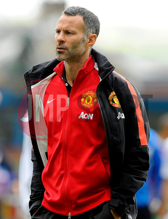 Manchester United assistant manager, Ryan Giggs - Photo mandatory by-line: Joe Meredith/JMP - Mobile: 07966 386802 30/08/2014 - SPORT - FOOTBALL - Burnley - Turf Moor - Burnley v Manchester United - Barclays Premier League