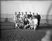 30/01/1953<br /> 01/30/1953<br /> 30 January 1953<br /> Interprovincial Men's Hockey at Londonbridge Road, Dublin. The Munster team.