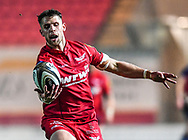 Scarlets' Tom Williams in action <br /> <br /> Photographer Craig Thomas/Replay Images<br /> <br /> Guinness PRO14 Round 17 - Scarlets v Leinster - Friday 9th March 2018 - Parc Y Scarlets - Llanelli<br /> <br /> World Copyright © Replay Images . All rights reserved. info@replayimages.co.uk - http://replayimages.co.uk