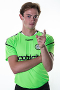 during the 2018/19 official team photocall for Forest Green Rovers at the New Lawn, Forest Green, United Kingdom on 30 July 2018. Picture by Shane Healey.