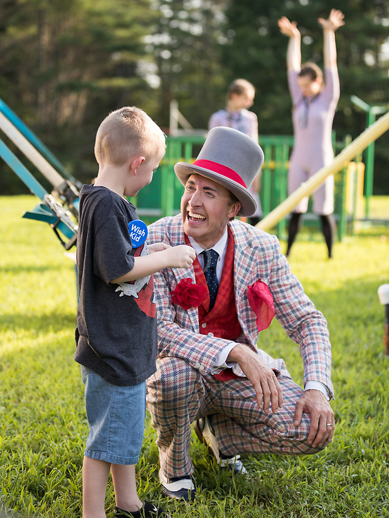 Circus Smirkus<br /> Make-a-WIsh Foundation<br /> Jaxson